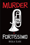 Cover of the North American edition of Murder Fortissimo